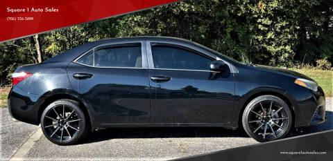 2015 Toyota Corolla for sale at Square 1 Auto Sales - Commerce in Commerce GA