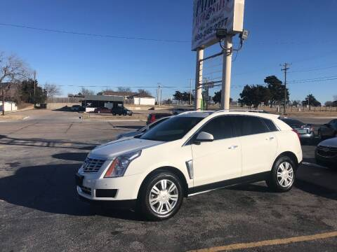 2013 Cadillac SRX for sale at Patriot Auto Sales in Lawton OK