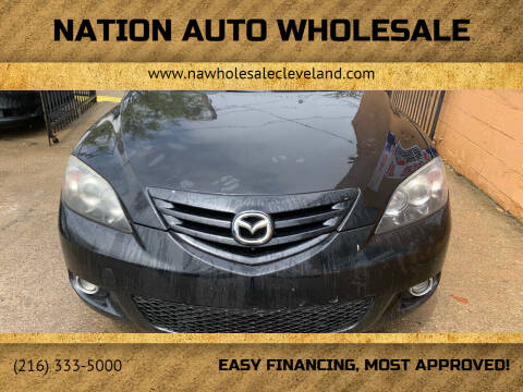 2005 Mazda MAZDA3 for sale at Nation Auto Wholesale in Cleveland OH