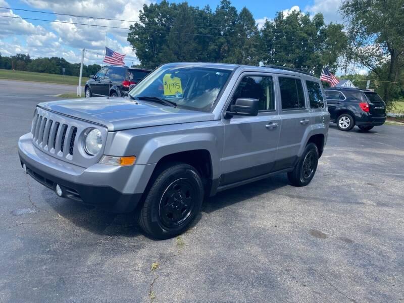 2017 Jeep Patriot for sale at Rombaugh's Auto Sales in Battle Creek MI