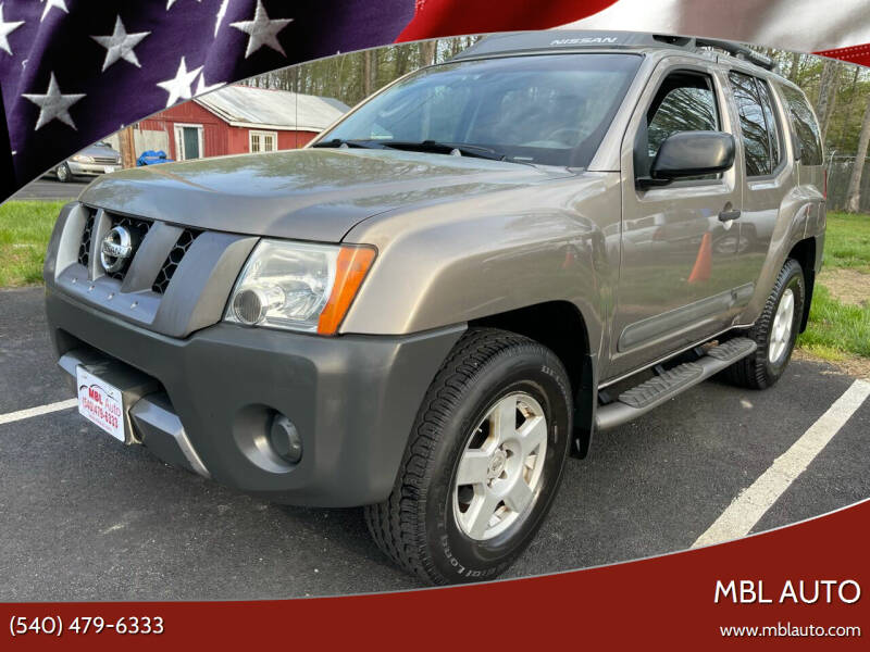 2005 Nissan Xterra for sale at MBL Auto Woodford in Woodford VA
