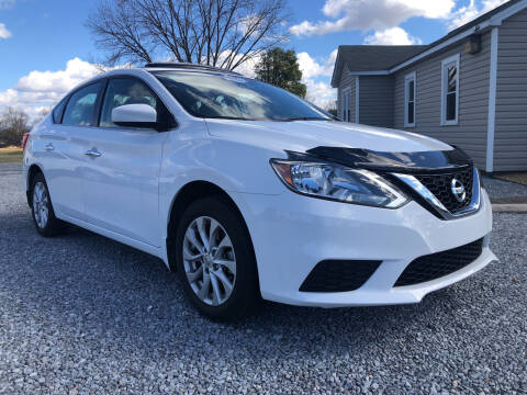 2017 Nissan Sentra for sale at Curtis Wright Motors in Maryville TN