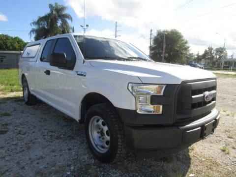 2015 Ford F-150 for sale at Truck and Van Outlet in Miami FL