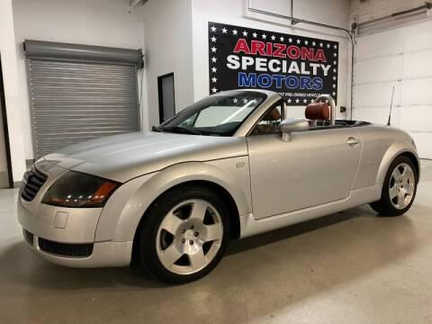 2002 Audi TT for sale at Arizona Specialty Motors in Tempe AZ