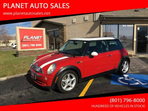 2005 MINI Cooper for sale at PLANET AUTO SALES in Lindon UT