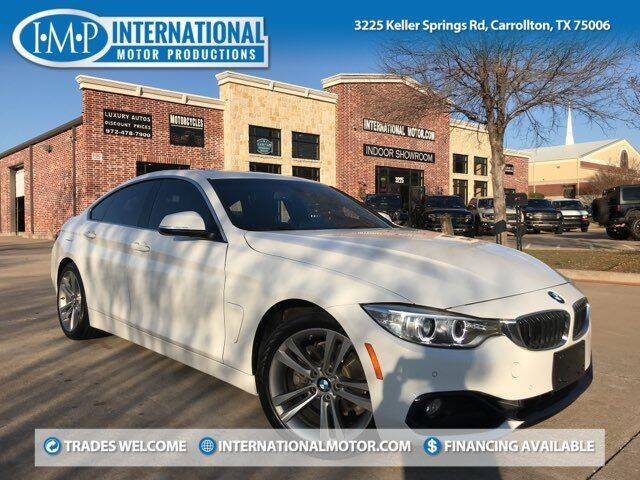 2017 BMW 4 Series for sale at International Motor Productions in Carrollton TX