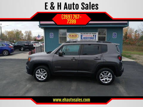 2017 Jeep Renegade for sale at E & H Auto Sales in South Haven MI