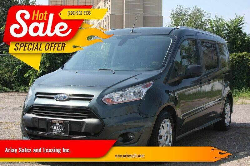 2017 Ford Transit Connect Wagon for sale at Ariay Sales and Leasing Inc. - Pre Owned Storage Lot in Denver CO