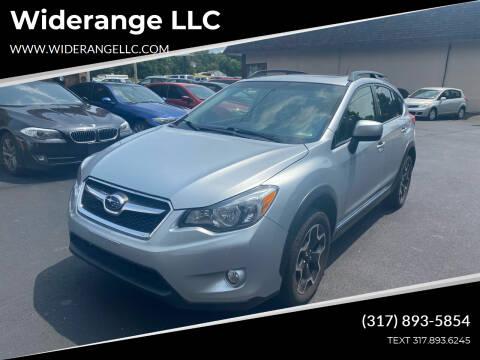 2014 Subaru XV Crosstrek for sale at Widerange LLC in Greenwood IN