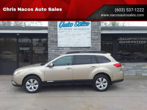 2010 Subaru Outback for sale at Chris Nacos Auto Sales in Derry NH