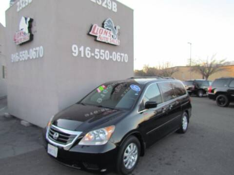 2010 Honda Odyssey for sale at LIONS AUTO SALES in Sacramento CA