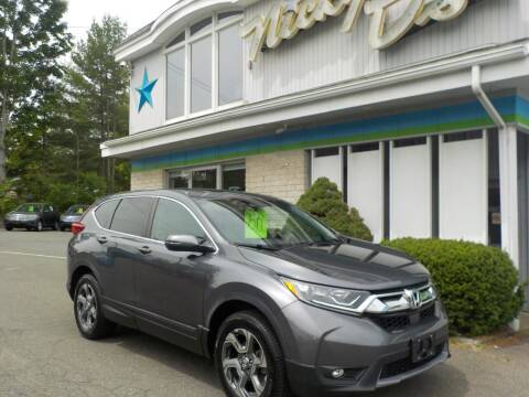 2017 Honda CR-V for sale at Nicky D's in Easthampton MA