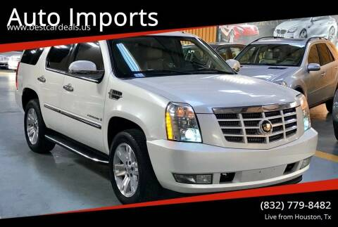 2007 Cadillac Escalade for sale at Auto Imports in Houston TX