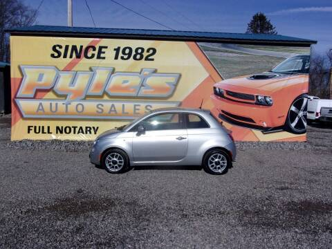 2013 FIAT 500 for sale at Pyles Auto Sales in Kittanning PA