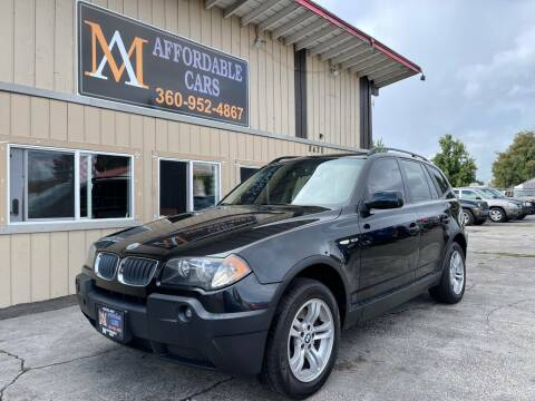 2005 BMW X3 for sale at M & A Affordable Cars in Vancouver WA