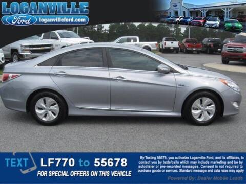 2015 Hyundai Sonata Hybrid for sale at Loganville Ford in Loganville GA