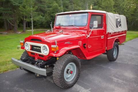 1976 Toyota Land Cruiser for sale at Essex Motorsport, LLC in Essex Junction VT