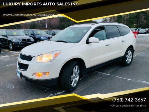 2012 Chevrolet Traverse for sale at LUXURY IMPORTS AUTO SALES INC in North Branch MN