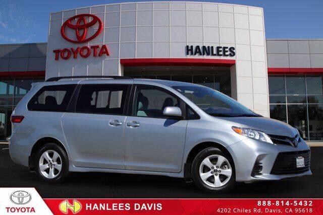2020 Toyota Sienna for sale at Hanlees Davis Toyota in Davis CA