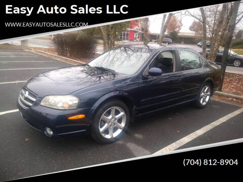 2003 Nissan Maxima for sale at Easy Auto Sales LLC in Charlotte NC