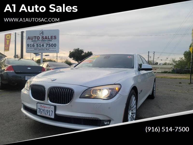 2012 BMW 7 Series for sale at A1 Auto Sales in Sacramento CA