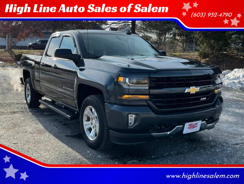 2017 Chevrolet Silverado 1500 for sale at High Line Auto Sales of Salem in Salem NH