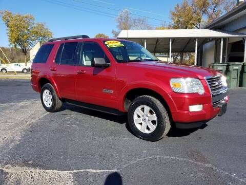 2008 Ford Explorer for sale at Moores Auto Sales in Greeneville TN