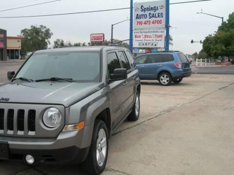 2013 Jeep Patriot for sale at Springs Auto Sales in Colorado Springs CO