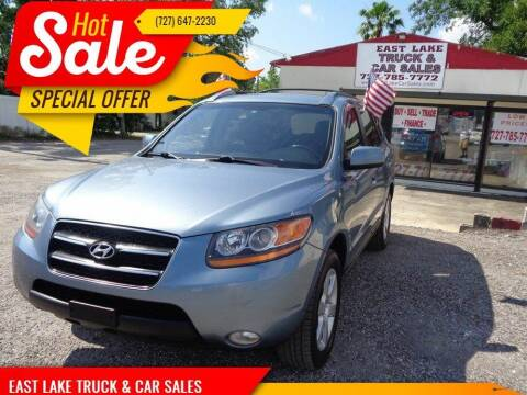 2009 Hyundai Santa Fe for sale at EAST LAKE TRUCK & CAR SALES in Holiday FL