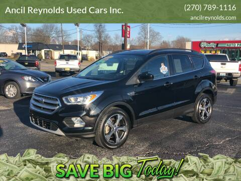 2017 Ford Escape for sale at Ancil Reynolds Used Cars Inc. in Campbellsville KY
