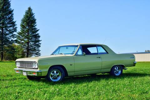1964 Chevrolet Malibu for sale at Hooked On Classics in Watertown MN