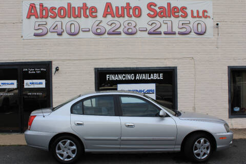 2004 Hyundai Elantra for sale at Absolute Auto Sales in Fredericksburg VA