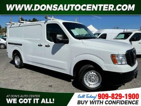 2018 Nissan NV Cargo for sale at Dons Auto Center in Fontana CA