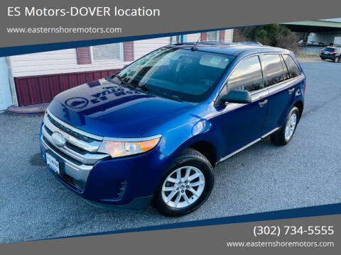 2013 Ford Edge for sale at ES Motors-DAGSBORO location - Dover in Dover DE