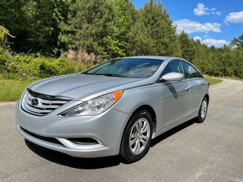2013 Hyundai Sonata for sale at Carrera AutoHaus Inc in Clayton NC