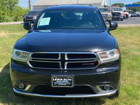 2015 Dodge Durango for sale at Lewis Blvd Auto Sales in Sioux City IA