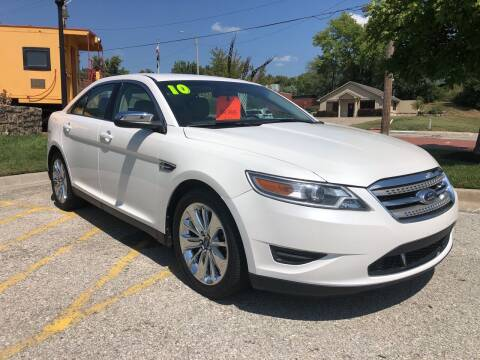 2010 Ford Taurus for sale at Midwest Motors 215 Inc. in Bonner Springs KS