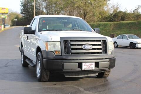 2010 Ford F-150 for sale at Baldwin Automotive LLC in Greenville SC