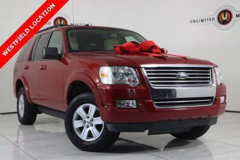 2010 Ford Explorer for sale at INDY'S UNLIMITED MOTORS - UNLIMITED MOTORS in Westfield IN