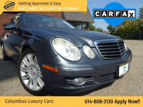 2007 Mercedes-Benz E-Class for sale at Columbus Luxury Cars in Columbus OH
