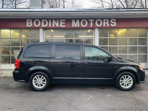 2015 Dodge Grand Caravan for sale at BODINE MOTORS in Waverly NY