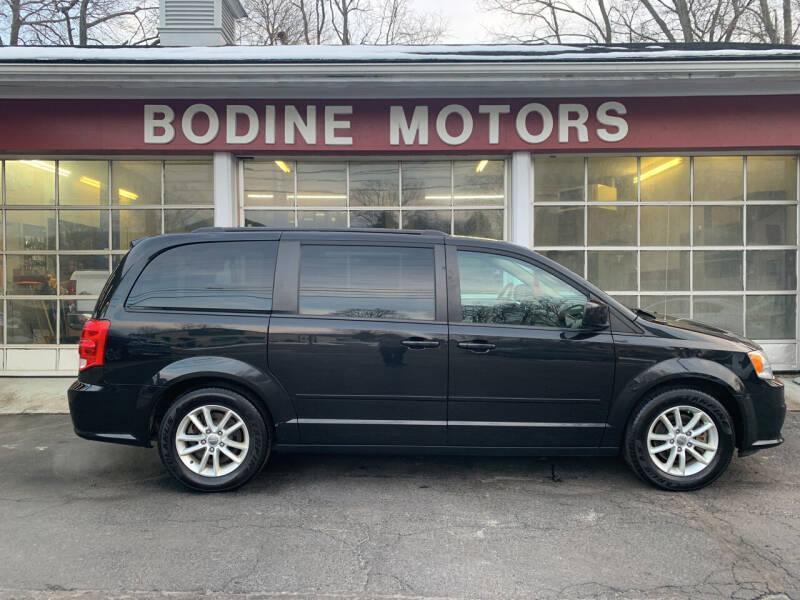 2015 Dodge Grand Caravan for sale at BODINE MOTORS in Waverly NY