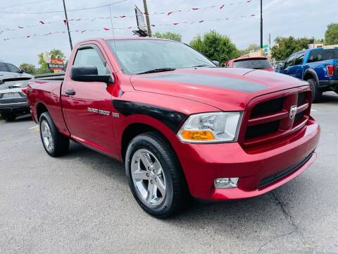 2012 RAM Ram Pickup 1500 for sale at Lion's Auto INC in Denver CO