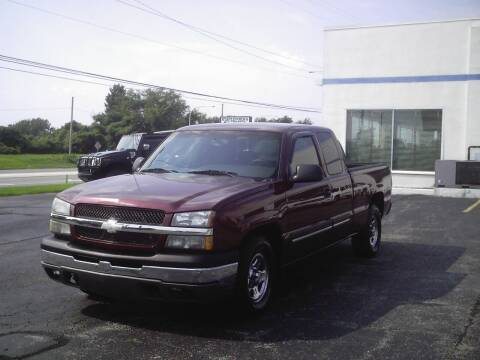 2003 Chevrolet Silverado 1500 for sale at STAPLEFORD'S SALES & SERVICE in Saint Georges DE