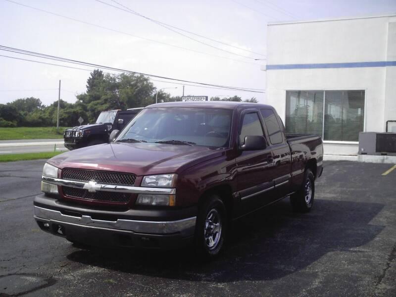 2003 Chevrolet Silverado 1500 for sale at STAPLEFORD'S SALES & SERVICE in Saint Georges DE