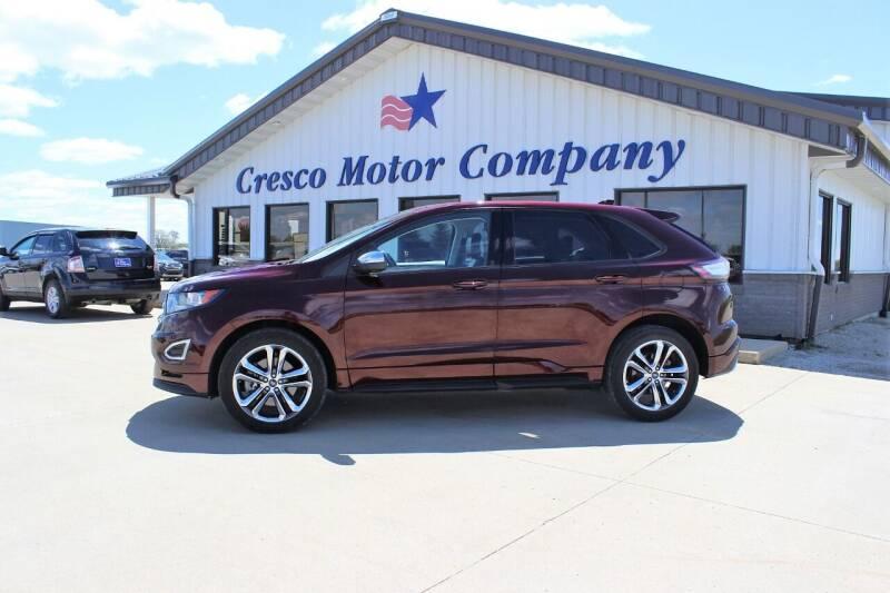 2017 Ford Edge for sale at Cresco Motor Company in Cresco IA