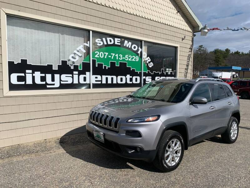 2014 Jeep Cherokee for sale at CITY SIDE MOTORS in Auburn ME