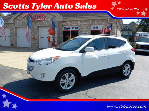 2013 Hyundai Tucson for sale at Scotts Tyler Auto Sales in Wilmington IL