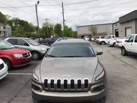 2017 Jeep Cherokee for sale at Mitchell Motor Company in Madison TN