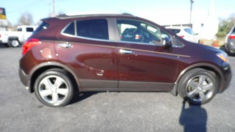 2013 Buick Encore for sale at G AND J MOTORS in Elkin NC